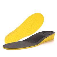 erkekler için BOCAN Yükseklik artışı tabanlık 2 cm destek ortopedik ekler ayak bakımı tamponlar pu malzeme ayakkabı astarı kemer