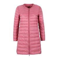 Куртка NewBang Brand Down Женская длинная утка пуховик женщин легкий теплый Linter Slim портативные женские пальто Y201012