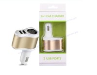 Dual USB Car Charger 5V 3.1A Compatible For phone11 12 Samsung Xiaomi Uiversial Car Cigarette Lighter Power Socket