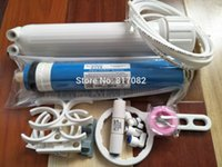 Ücretsiz kargo 75gpd vontron ro membrane +1812 ro membran gövde + ters osmoz su filtresi sistemi parçaları ro sistemi akvaryum Y200922