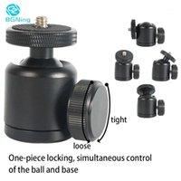 BGning 25mm Mini Treppiede Treppiede Testa a sfera a 360 gradi Ball Balls Stand per DSLR SLR Accessori per fotocamera panoramica Supporto 3KG1