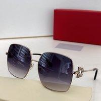 Nueva calidad superior 243SR para hombre gafas de sol hombres gafas de sol mujeres gafas de sol estilo de sol protege los ojos Gafas de sol Lunettes de Soleil con caja