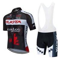 Nya Kuota Cykling Tröjor Bib Shorts Set Män Andas cykel Sportkläder Pro Cykling Kläder Sport Uniform Sommar MTB Bike Wear Y20051301