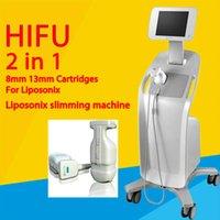 Liposonix HIFU شفط الدهون آلة التخسيس الوزن لفقدان الجلد تشديد التجاعيد إزالة سريعة إزالة الدهون التركيز معدات الجمال الموجات فوق الصوتية