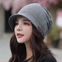 New Knitted Hat Women' s Autumn And Winter Haed Cap Fash...