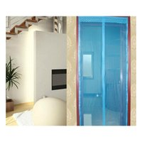 6 Cores Porta Magnética Mosquito Net Curtain Screen Janelas Insect Fly Bug Mosquito Mosquito 90 * 210cm e 10 JHHome Jlljys