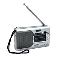 Mini Portable BC-R22 Radio Handheld Digital AM / FM Teleskop Antenne Radio World Receiver Für Joggengehen und Reisen