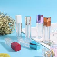 Heißer Make-up-Lippenstift 8 Farben glänzend klar pingelig / glow / diamant lip glaze flüssigkeit lip gloss bombe glowingy 10ml