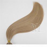 Я наконечник прямой кератин человеческих волос наращивания волос 0.5 г пряди 100s предварительно связанные волосы наращивание от 18 до 30 дюймов # 60 # 6 # 8 # 60 # 613 Девственные человеческие волосы