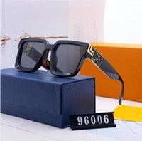 Óculos de sol de luxo de vidro de moda Óculos de sol de alta qualidade para homens designer óculos de sol vintage esporte óculos de sol