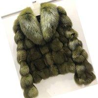 Ethel Anderson Lüks Hakiki Gerçek Jacketscoats Bayanlar için Kürklü Kürklü Kürklü Kıyafetler 201212
