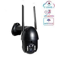Cámaras 1080P Super WiFi Cámara IP PTZ SPEED DOME WIRELESS AUTO Rastreo CCTV Aire exterior Vigilancia de seguridad impermeable1