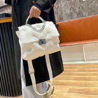 Moda PU couro crossbody bolsas para mulheres 2021 bolsas de grife e bolsas senhoras bolsa de ombro cadeia tote 6641