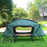 2 person outdoor thermal insulation, off ground tent, outdoor ...