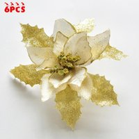Large Christmas Tree Decorations Glitter White On Christmas ...