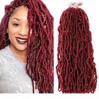 Dreadlocks synthétiques Braids Crochet Dreads Dreads Faux Locs Tressant Extensions de cheveux pour femmes noires