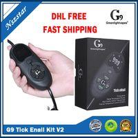 Authentic GreenlightVapes G9 Tick Enail V2 Kit Kit Coil Riscaldatore Temperatura Controllo del DAB Dispositivo VAPorizer DNAIL per la scatola del dabber Concentrato di cera