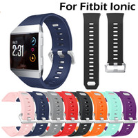 12 colors Silicone Sport Band Strap for Fitbit Ionic Replace...