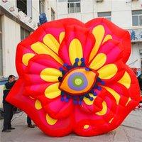 장식 풍선 꽃 팽창 식 눈 꽃 빛과 송풍기 2020 파티 이벤트 무대 장식