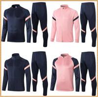 20 21 Tottenham Survêtement de football SON Combinaison d'entraînement 2020 2021 Spurs maillot de foot DELE NDOMBELE Veste de football Survêtements de jogging