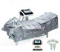 3 1 Uzak Kızılötesi Pressotherapy EMS Elektrikli Kas Stimülasyonu Sauna Hava Basıncı Pressotherapy Lenf Drenaj Vücut Zayıflama Ekipmanları