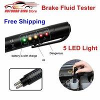 정확한 오일 품질 확인 펜 범용 브레이크 유체 테스터 자동차 브레이크 액체 디지털 테스터 차량 자동 자동차 테스트 툴 1