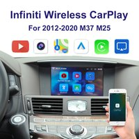 Wrieless Auto Carplay Interface Support Iphone Android Auto YouTube Video für 2012-2020 Infiniti M37 M25