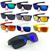 10pcs Estate Brand Hot Men Moda 9 Colori Driving Sunglasses UV400 Lens Moda Occhiali da sole Sport all'aperto Occhiali da sole 1079 Design Occhiali da sole oculos