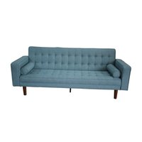 Sofa bed European style fabric sofa living room furniture gray blue sectional sofa couches LZ2120B