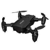 Drones RCtown S107 Dobrável Mini Drone RC 4K FPV HD Camera WiFi Dron Selfie Helicóptero Juguetes Brinquedos Para Meninos Meninas Crianças