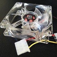 8cm CPU-Kühlkörper-Kühlerkühler-Kühl-Lüfterbeleuchtung stumm für den Computergehäuse ND998