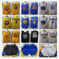 ErkeklerinAltınDurumSavaşçılar11KlayThompson30StephenköriBasketbol Şort Basketbol Formaları