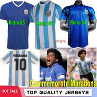 Hatıra Maradona Retro 1986 1994 1978 Napoli Napoles Boca Arjantin Juniors Maradona Futbol Formaları Vintage Futbol Gömlek Klasik