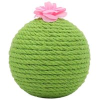 New Cactus Scratching Post with Flower Decor Cat Ball Scratc...