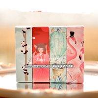 Ruj Tüp Renkli Kağıt Kozmetik Maskara Dudak Gloss için Kutu Ambalaj 25 * 25 * 85mm Yaratıcı Karikatür Stil