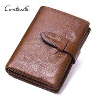 جهة اتصال ماركة قصيرة الرجال محافظ جلد طبيعي الذكور محفظة بطاقة حامل المحفظة أزياء الرجل المحفظة المحفظة رجل أكياس عملة