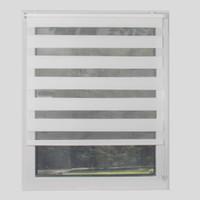 Pas de foret Mini-Rouleaux Stores Semi-Blackout Zebra stores 100% polyester pour le salon pour les petites teintes de la fenêtre peut avoir une taille personnalisée T200718