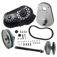 """40 Series 1"""" Driver 5 8"""" inch Driven Torque Converter Clutch Kit Set Go Kart Pulley for Comet for Manco straight crankshaft with 1  keyway"""