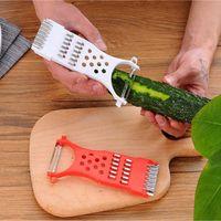 Küchenschneider Gemüse Shredder Multifunktionshandbuch Slicers Gurkenschneider Fruchtschale Slicer Werkzeuge YHM166-1-Zwl