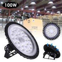 200W 초박형 3 세대 LED UFO 하이 베이 라이트 산업 가벼운 홀 램프 마이닝 천장 조명 워크샵 조명