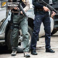 Sektör Yedi IX9 Likra Taktik Savaş Oyunu Kargo Pantolon Erkek Silm Casual Pantolon Erkek Pantolon Savaş Swat Ordusu Askeri Aktif Pantolon 201118