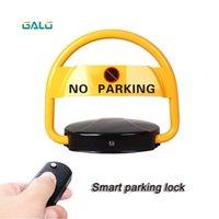 Fingerabdruck-Zugangskontrolle Type VIP Automatische Autospiegel Remote Barrier Parkschloss Kit mit Sensor optional