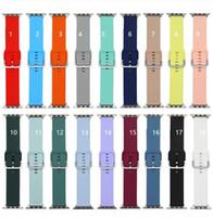 Apple Watch Bands의 시계 밴드 IWATCH S 6/5/4/3/2/1 야생 스타일 내구성 핀 버클 용 럭셔리 스트랩