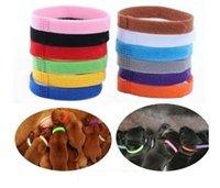 Welpen-ID-Kragen-Identifikation-ID-Halsband-Band für Welp-Welpen-Kätzchen-Hunde-Haustierkatze-Samt-Praktische 12 Farben Großhandel
