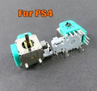 Metail Joystick Sensor Gamepad Controller Modul Reparatur Ersatz für PlayStation 4 PS4 3D Rocker 3D-Achse Analog Cap Spiel