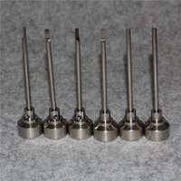 14mm 18mm 2in1 Titan Carb Cap Titan Nagel Domeless Titan Nagel GR 2 Nagel Freies Verschiffen Fabrik Preis