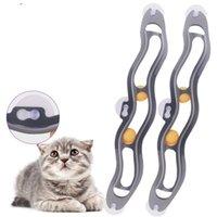Sucker divertente Cat Orbital Finestra Tipo Tavolo Ping-pong Playable Pet Dog Toys Security Conveniente con alta qualità 9 5BG J1