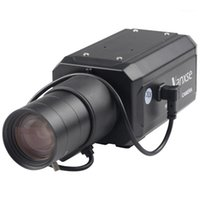 カメラUVUSEE CCTV 6-60MMオートアイリスバリフォーカルレンズ1/3ソニーエフェラCCD 1000TVL / 960Hセキュリティボックスカメラ監視10ピース/ Aロット1