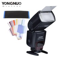 Yongnuo yn560iv yn 560 iv speedlight mestre sem fio speedlite flash para câmera dslr flash original