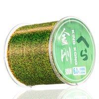 سوبر قوي 500 متر الفلوروكربون اليابان حيدة نايلون خط الصيد روك موضوع البحر التمويه تلون بكرة pesca peche 201116